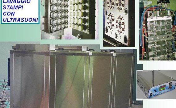 lavaggio componenti stampo